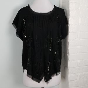 Romeo & Juliet Couture beaded blouse
